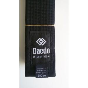 """Пояс черный """"Daedo""""  CINT 1531"""